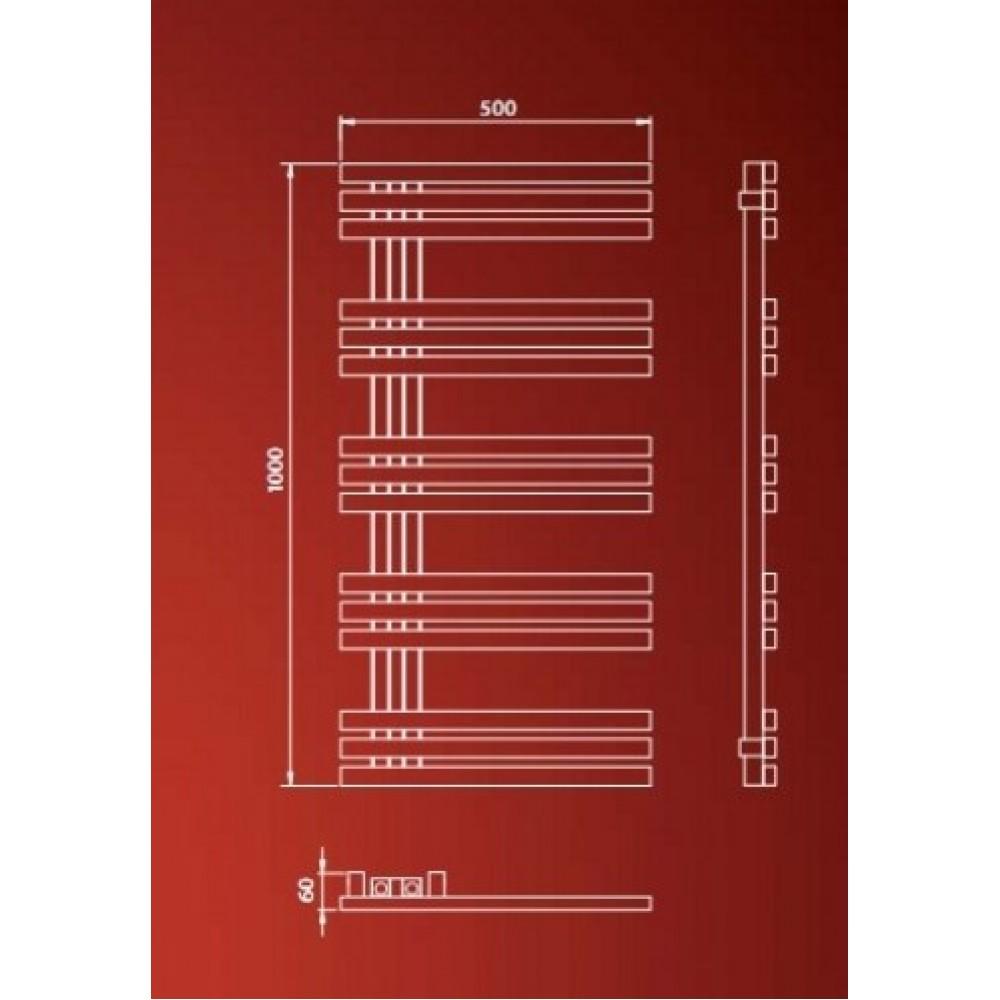Дизайн-радиатор ISAN Echo Inox