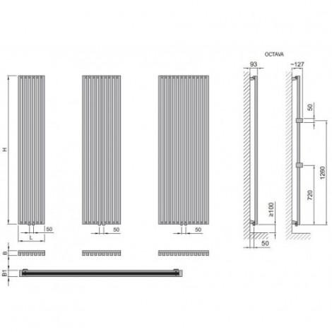 Дизайн-радиатор ISAN Octava / Octava Double