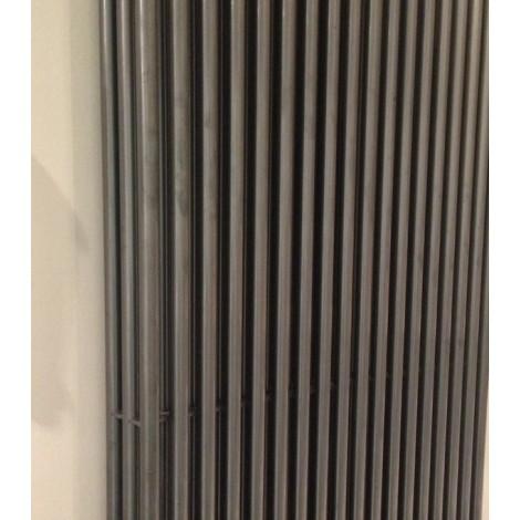 Стальной трубчатый радиатор Arbonia Column 2180, боковое подключение, Anthrazit