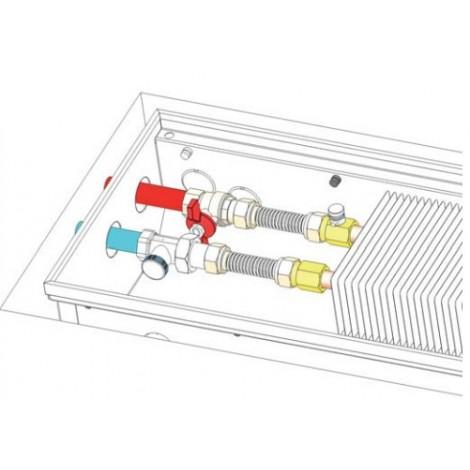 Конвекторы MiniB, внутрипольные