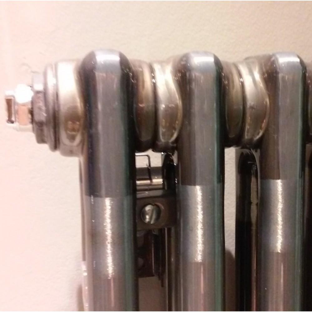 Стальной трубчатый радиатор Zehnder Charleston 2180, боковое подключение, Tehnoline