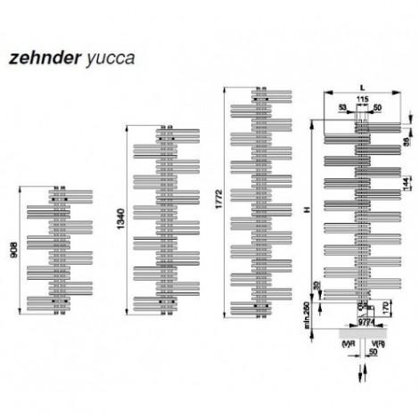Zehnder Yucca Symmetric